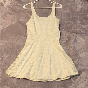 Off whit lace dress